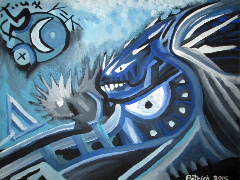 Blue Dragonie