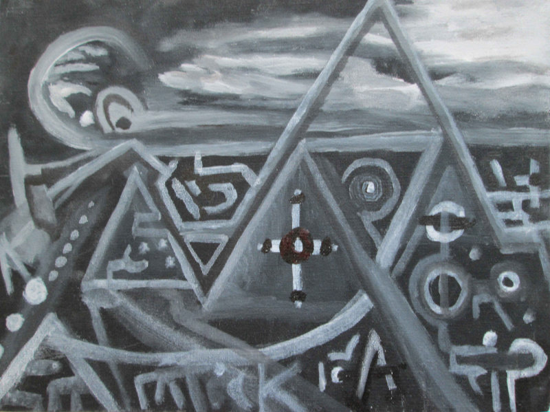 Illuminati Pyramid