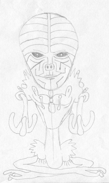 Patpro Alien Buddha